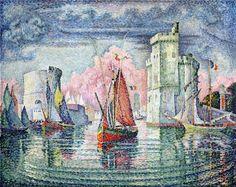 The Port at La Rochelle - Paul Signac