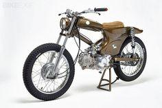 Honda Super Cub độ thành mô tô đua địa hình http://otothudo.com.vn/?frame=news_detail&id=323