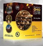 http://ift.tt/1Pn1jB8 G40 Globe String Lights Set with 25 Clear G40 Bulbs Included End-to-end  UL Listed Indoor & Outdoor Lights Settings With Warm Romantic Ambience  Patio Lights & Patio String Lights  Perfect for Backyards Gazebos Patios Gardens Pergolas Decks City Rooftops Weddings Bbq Dinner Parties Holidays  Commercial Quality String Light Fixture for Indoor / Outdoor Use  Updated Incandescent Energy-efficient Bulbs  Black Wire  100% Satisfaction Guarantee Reviews
