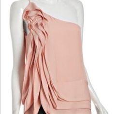 BCBGMaxAzria Tops - BCBG blush pink top
