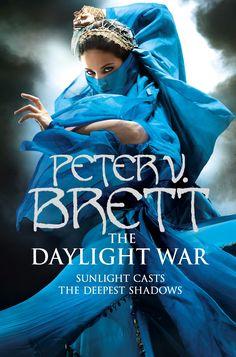 """Zu dem roten US-Cover von """"The Daylight War"""" gibt es auch noch ein fantastisches blaues für die UK-Ausgabe. :)"""