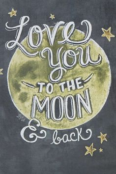 Carte Love You to the Moon and Back - Urban Outfitters