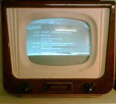 1957. Az első magyar televíziók aegyike.