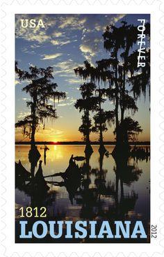 Louisiana statehood | 2012 USPS Stamp