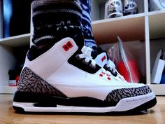 Air Jordan 3 GS – White Black–Infrared http   www. c0cf789c7