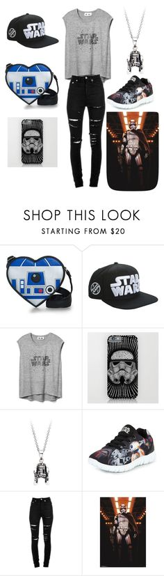 """""""Star Wars the Force awakens!"""" by dancingpeach2 ❤ liked on Polyvore featuring beauty, Disney, Gap, R2 and Yves Saint Laurent"""