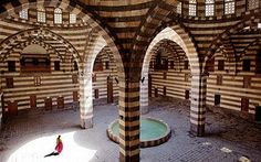 Ancient City of Damascus, Syria. UNESCO World Heritage Site