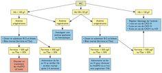 Prise en charge de l'anémie rénale en 2013 ; saturation de la transferrine (TSat)  IRC : insuffisance rénale chronique ; Hb : hémoglobine ; TSat : taux de saturation de la transferrine ; rHuEPO : érythropoïétine recombinante humaine