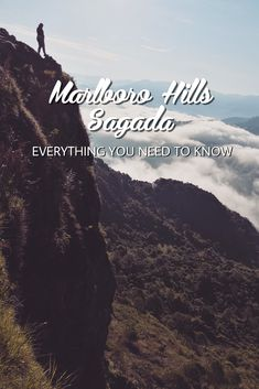 Heading to Sagada for the sea of clouds? You might want to consider Marlboro Hills. Here's a travel guide complete with budge and everything else you need to know. Diy On A Budget, Budget Travel, Travel Guide, Sagada, Travel Around, Heavenly, Need To Know, Philippines, Clouds