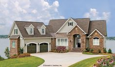 European House Plan with 2390 Square Feet and 4 Bedrooms from Dream Home Source   House Plan Code DHSW075788