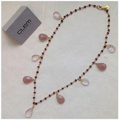 #necklace #rose #fashion #Italy