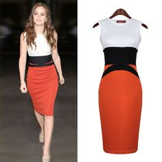 Fashion O-neck Mini Dress Tank Sleeveless Sheath Cotton