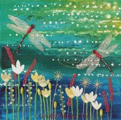 Dragonfly Pool By Jo Grundy Cross Stitch Kit