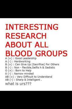 Rh negative blood type presidents day