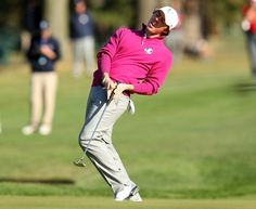 Rory McIlroy didn't like this shot at the Ryder Cup.
