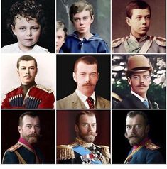 Tsar Nicholas ll throughout the years. Romanov Sisters, Anastasia Romanov, Vintage Gentleman, Russian Literature, Tsar Nicholas, Imperial Russia, Edwardian Fashion, Queen Victoria, Royalty
