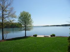 View from waterfront home with 500' of shoreline on the main channel.  280 degree views!