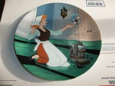 Knowles Collector Plate Cinderella 1989 On Sing Sweet Nightingale Walt Disney 3 . You can see this and more from this collection in our eBay store ThenAndAgainTreasures