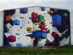 ETNIK - ''letters revolution'' [Pontedera - ITA]. Street Art - Graffiti - Urban culture.