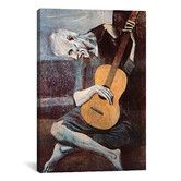 Found it at Wayfair - 'The Old Guitarist' by Pablo Picasso Painting Print on Canvas