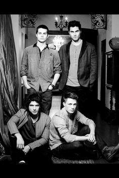 THe men of Teen Wolf