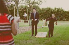 Outdoor games  A Whimsical Rustic Ranch Wedding in Florida ~ UK Wedding Blog ~ Whimsical Wonderland Weddings