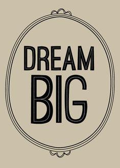 dream big • graphic anthology