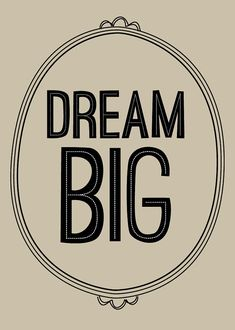 dream big • graphic anthology