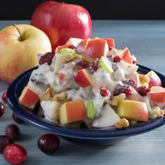 Waldorf Salad with cranberries and walnuts | Pick Fresh Foods