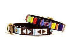 African Beaded dog collars!!! omg