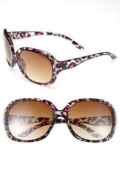 FUN!  Animal print sunglasses (girls)