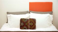 Headboards can be expensive, but with a little DIY action, they don't have to be. Creating your own custom headboard is as easy as...