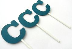 wedding initial cupcake toppers