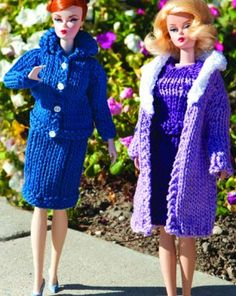 60's inspired Barbie patterns  Jana I would love to buy some barbie clothes that are crocheted!!!
