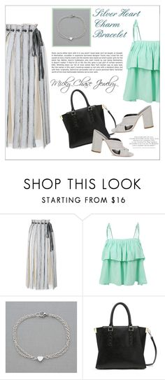 """Micky Chase Jewelry"" by water-polo ❤ liked on Polyvore featuring Proenza Schouler, LE3NO, Rebecca Minkoff, women's clothing, women, female, woman, misses, juniors and jewelry"