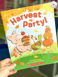 Preschool Activities Inspired by Harvest Party by Jennifer O'Connell