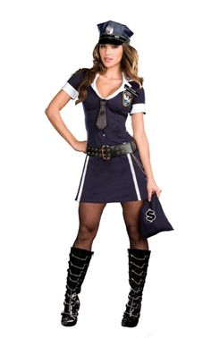Sexy Cop Robber Costume - Dreamgirl , for off your order! Robber Halloween Costume, Cop Costume, Sexy Halloween Costumes, Girl Costumes, Costumes For Women, Police Costumes, Costume Ideas, Police Party, Robin