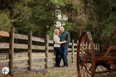 Southern style engagement session by Hannah Seay Photography at Landmark Park in Dothan, Alabama. #engagementphotos #engagedcouple