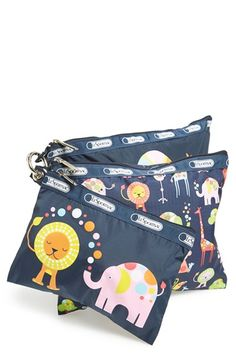 LeSportsac Travel Pouches (Set of 3) available at #Nordstrom