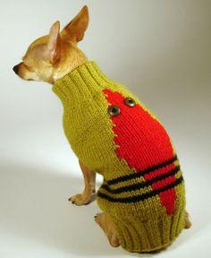 CUCARACHA  luxury brand la bamba dog sweater