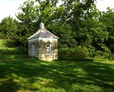 Rare Stone Outhouse, Z-Bar Ranch 1881