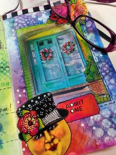 Pringle Hill Studio: Terri Kahrs' journal pages