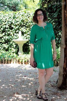 Look 'vestido esmeralda' http://lookandtxell.com/blog/2015/07/look-feliz-verano/