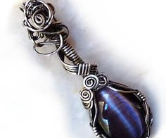 About five years ago I was making ceramic pendants and looking for special custom settings when I found wire wrapping. Wire wrapped settings require f...