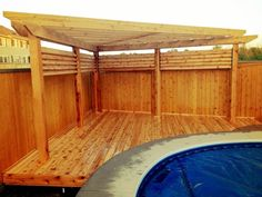 corner deck/shade...but without pool