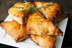 chanterelle mushroom hand pies recipe | use real butter - also a great tutorial on how to use puff pastry to make savory or sweet pies.