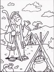 Abraham Bible Coloring Pages   Abraham Bible   The Story of Abraham