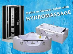 Now you can buy a high quality shower cabin or a modern SPA bath with massage. At a low price ! - Check out on Ebay. You can choose between corner and rectangular bathtub. #bath #cabin #cubicle #enclosure #massage #hydro #water
