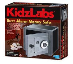 Science Kit Money Safe Educational Learning Lab Experiment Kids Buzz Alarm Safe  #4M