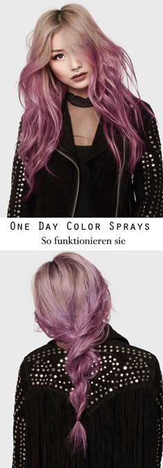 Haare selber färben mit den One Day Colorista Farb Sprays von L'Oreal Paris - das müsst ihr beachten!